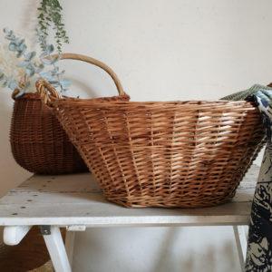 S'entourer de fibres naturelles, les ponctuer dans la maison de manière ni vu ni connu et les chiner si possible vintage pour un intérieur authentique, chaleureux dans un esprit maison de vacances.