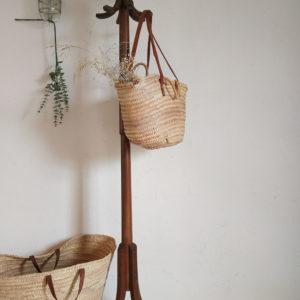 Porte manteaux en bois courbé perroquet ancien Baumann