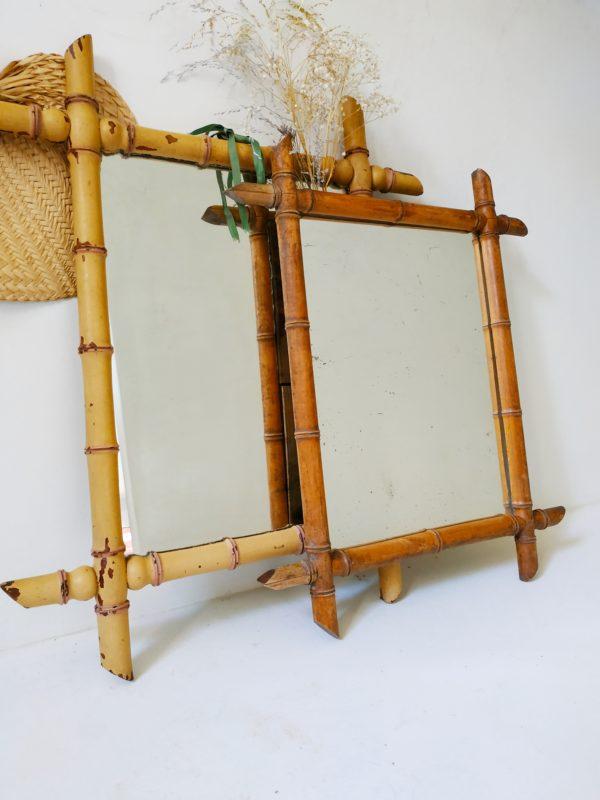 Accompagné ou seul, ce miroir en bois tourné restera remarquable et apportera sa touche bohème élégante.