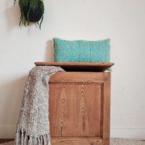 Ce petit coffre ancien apportera beaucoup de charme et de personnalité à la pièce de votre choix.