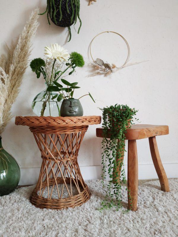 Nous craquons toujours autant pour le look bohème et chaleureux que nous insuffle le mobilier en fibres naturelles.